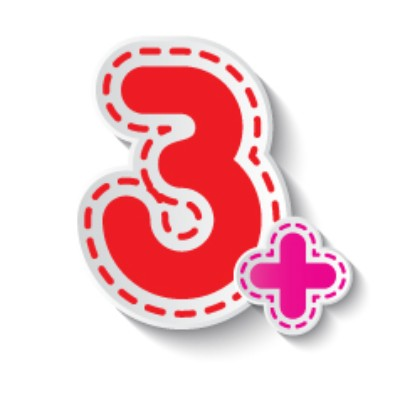3+ anos