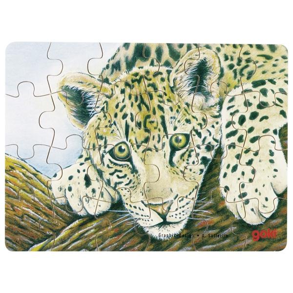Minipuzzle de Peças Tigre - Goki