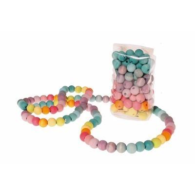 120 Contas Coloridas pastel - Grimm's