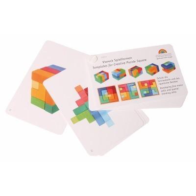Livreto Puzzle Quadrados - Grimm's