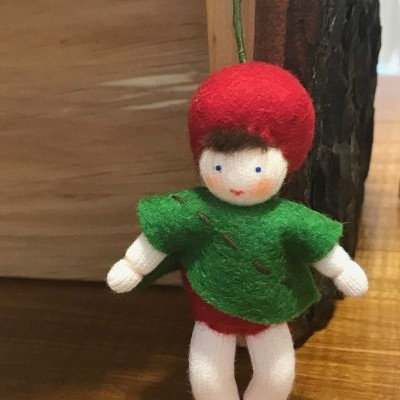 Boneca / Fada Bebé Cereja - Ambrosius
