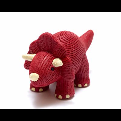 Triceratops Mordedor de Borracha Natural - Best Years