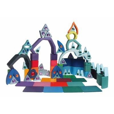 Set de Construção Cores e Formas Parte 1 - Grimm's