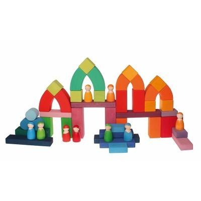 Puzzle Construção Romanesco Grande - Grimm's