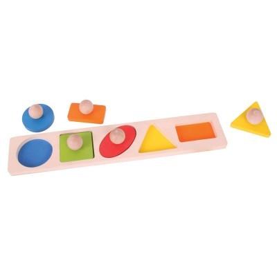 Geométrico Puzzle com Pegas - BigJigs