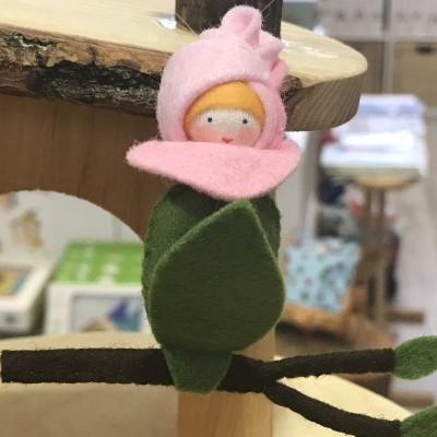 Boneca / Fada Botão de Rosa - Ambrosius