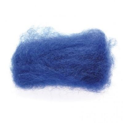 Lã Natural de Feltrar Azul Escuro 25gr - Gluckskafer