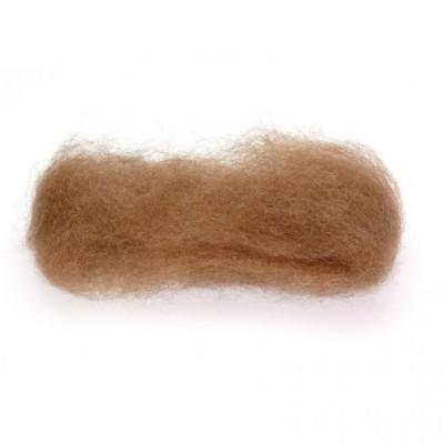 Lã Natural de Feltrar Castanho Claro 25gr - Gluckskafer