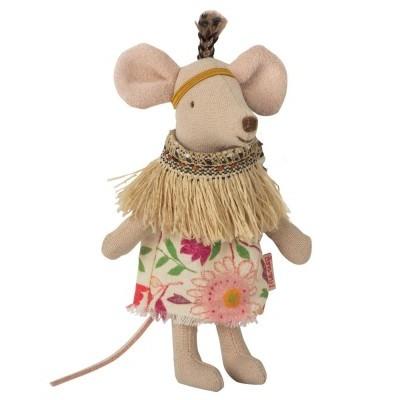 Ratinha Pena Pequena Com Tenda Tipi  - Maileg