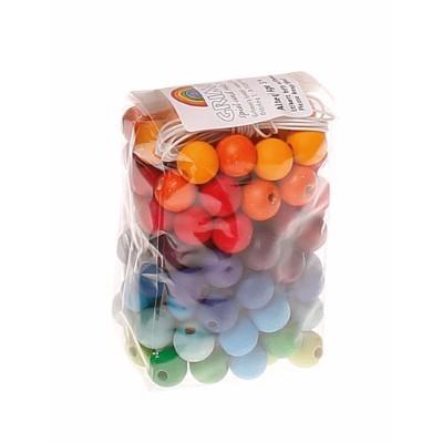 120 Contas Coloridas 12mm - Grimm's