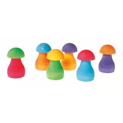 Ordenação Cogumelos Arco-íris - Grimm's