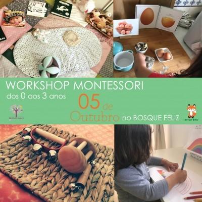 Montessori 0-3 Anos - 05 de Outubro