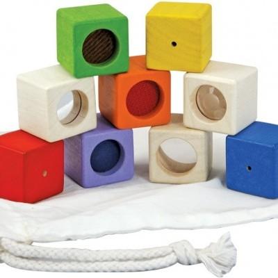 Blocos de Atividade Sensoriais - Plan Toys