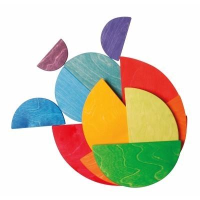 Semi-círculos Arco-Íris - Grimm's