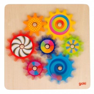 Puzzle Rodas de Relógio - Goki