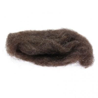 Lã Natural de Feltrar Castanho Escuro 25gr - Gluckskafer