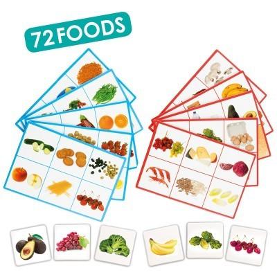 Loto: 72 Alimentos - Akros