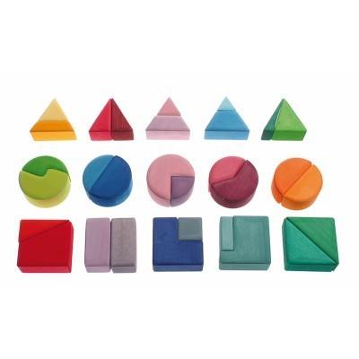 Triângulo, Quadrado e Círculo - Grimm's
