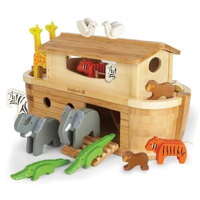 Arca de Noé com 14 Animais - EverEarth