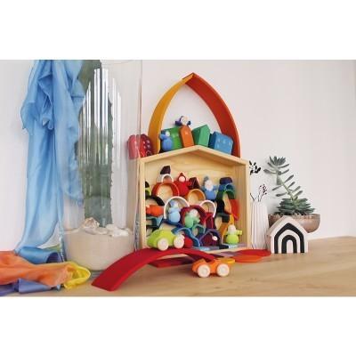 Casa de Bonecas, Brincar e Exposição Pequena - Grimm's