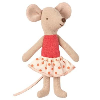 Ratinha Irmã Mais Nova em Caixa de Fósforo - Maileg
