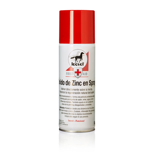 Spray Cicatrizador LEOVET Óxido de Zinco