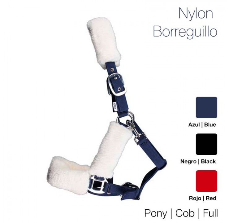 Cabeção Nylon c/ Borrego Sintético ZALDI