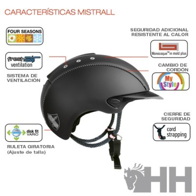 Toque CASCO Mistrall New