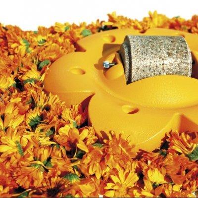"Flor com pedra de Sal OFFICINALIS ""Lollyroll"""