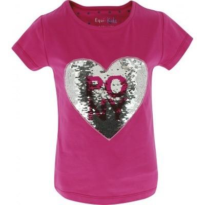 "T-Shirt de Menina ""Pony Love"" EQUI-KIDS"