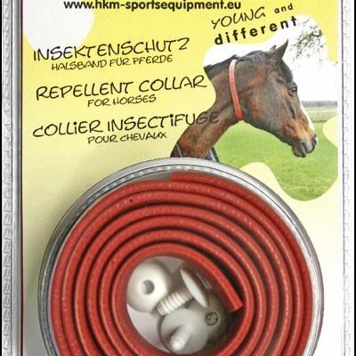 Coleira p/ Cavalos Repelente de Insectos HKM