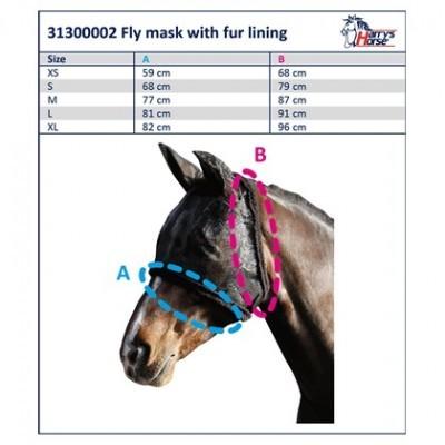 Máscara Anti-moscas HARRY'S HORSE