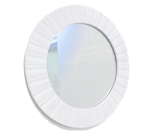 Espelho Redondo Branco