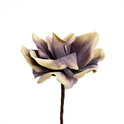 Flor Bege Lilás (Altura - 40 cm)