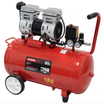 Compressor de Ar Silencioso 50L 1HP