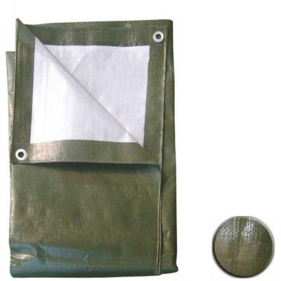 Resguardo Impermeável Verde-Cinza (5x8m)
