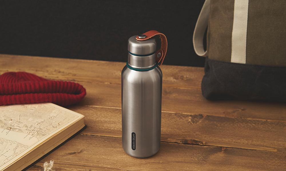 Black + Blum® _ Bottles _ INSULATED WATER BOTTLE SMALL _Olive
