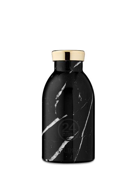 Clima Bottle - Black Marble 330ml
