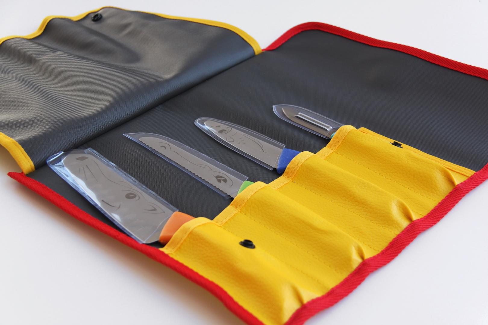 Conjunto de facas para crianças