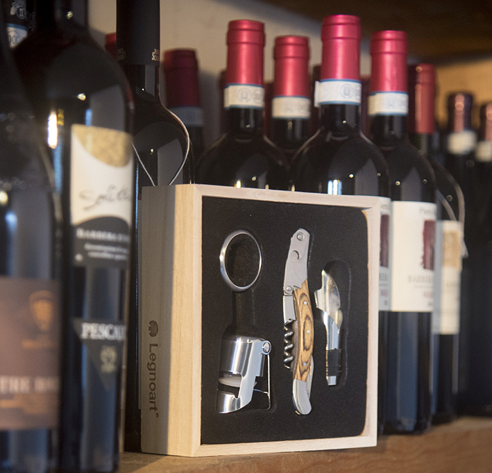 "Wine set ""Memorabile"" crue"