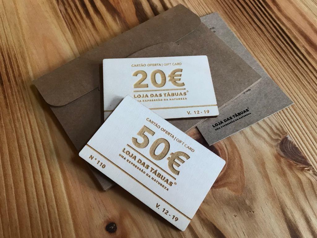 Cartão Presente / Gift Card 20