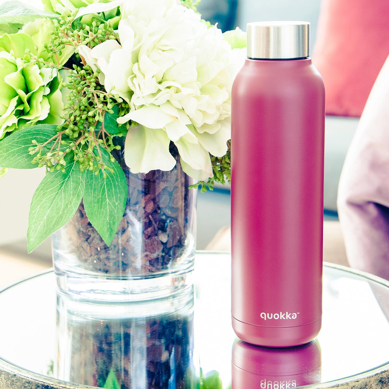 QUOKKA® Bottle - SOLID - ROSEWOOD 630 ML