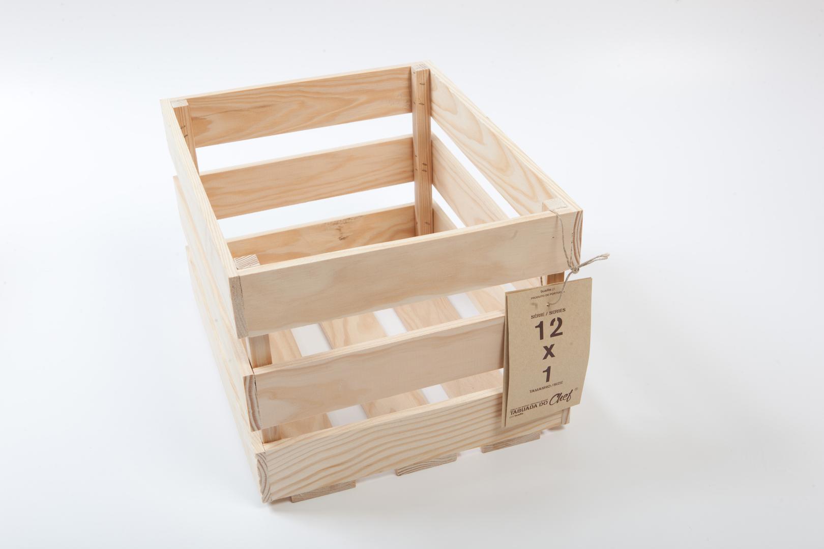 Caixa de Fruta mini, 12x1