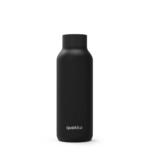 QUOKKA® Bottle - SOLID - JET BLACK 510 ML