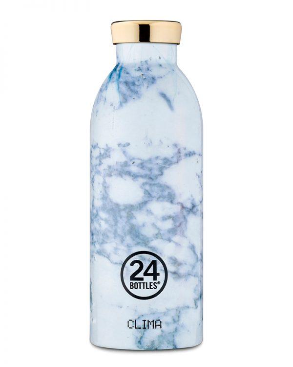 Clima Bottle - White Marble 500ml
