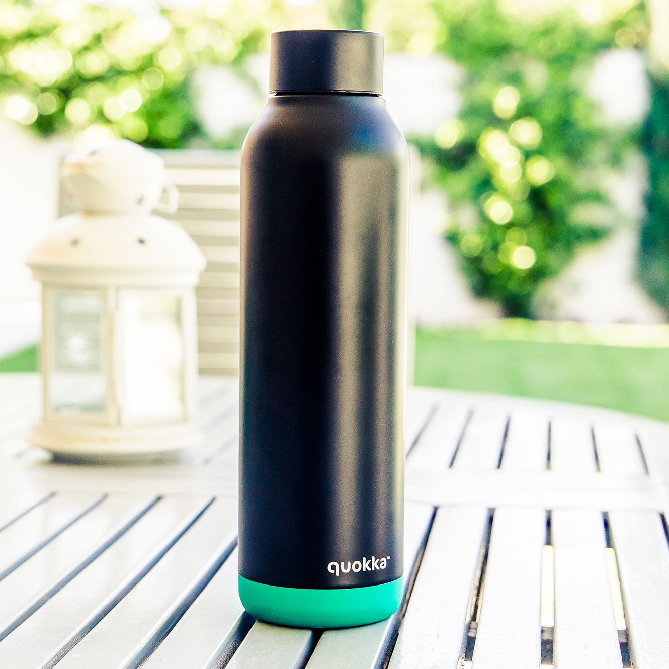 QUOKKA® Bottle - SOLID - TEAL VIBE 630 ML