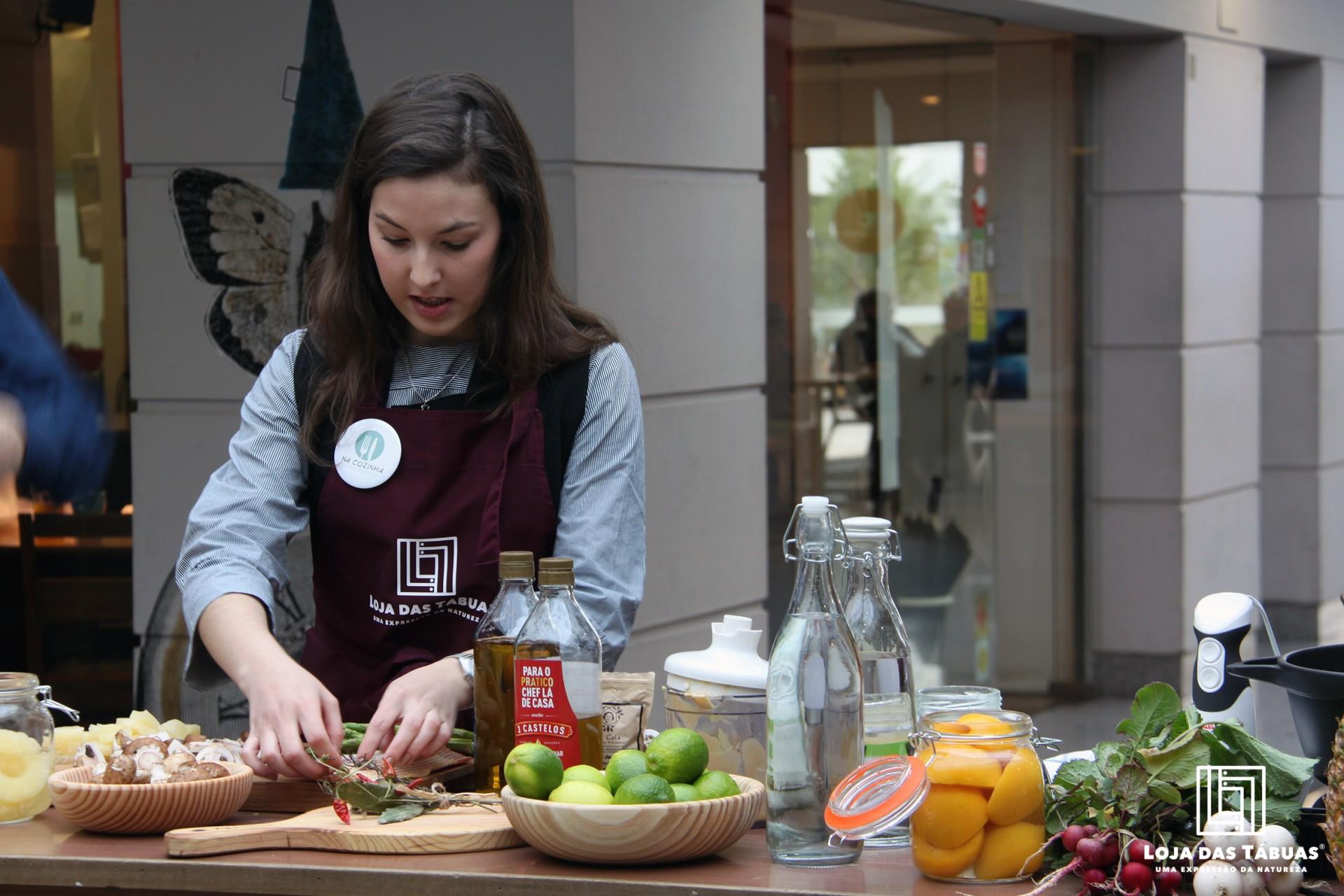 2º Evento de Show cooking - Na cozinha de uma universitária