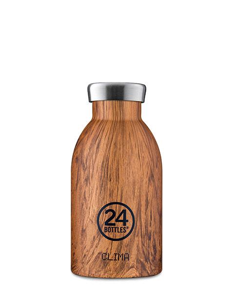 Clima Bottle - Sequioa Wood 330ml