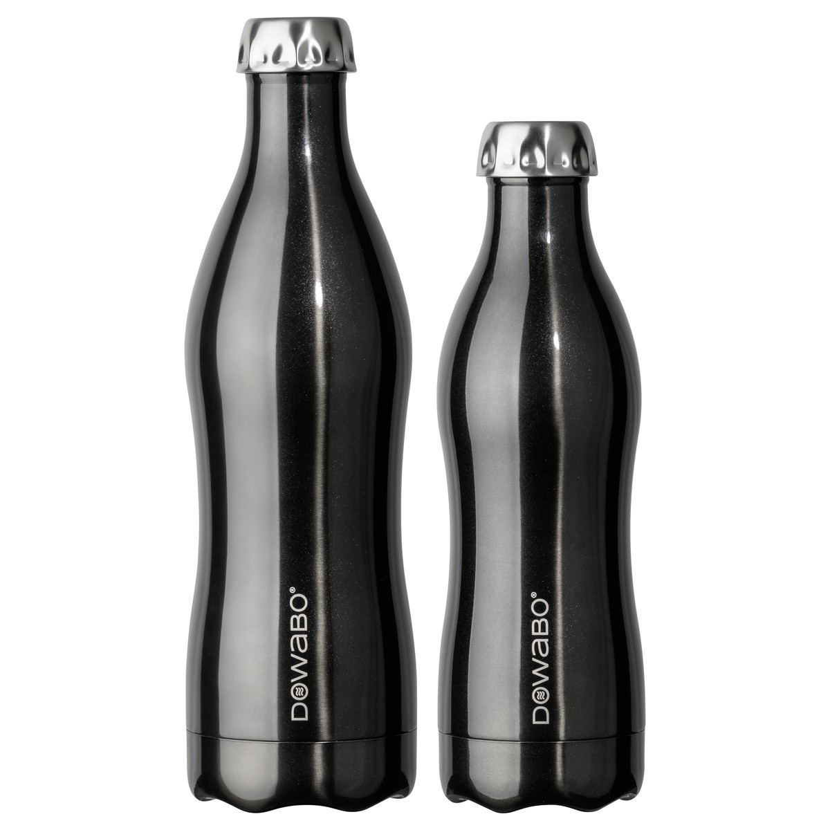 DOWABO® Bottle - Blue 500ml Metallic Collection