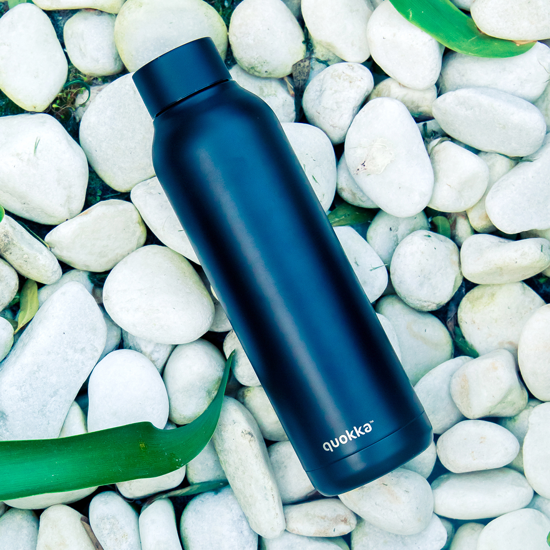 QUOKKA® Bottle - SOLID - JET BLACK 630 ML